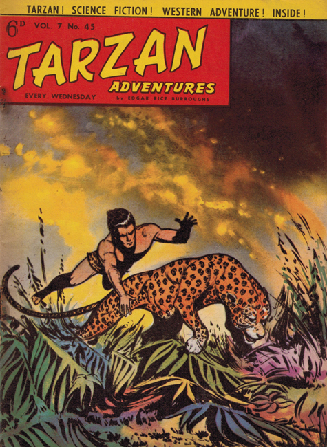 1958 <b><I>Tarzan Adventures</I></b> (<b>Vol. 7  No. 45</b>), ed. M.M.