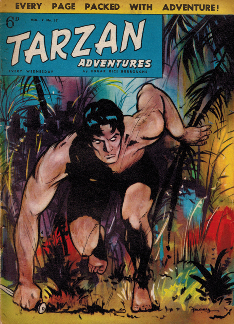 1957 <b><I>Tarzan Adventures</I></b> (<b>Vol. 7  No. 17</b>)