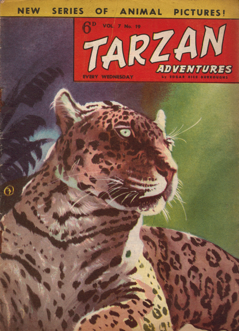 1957 <b><I>Tarzan Adventures</I></b> (<b>Vol. 7  No. 19</b>)