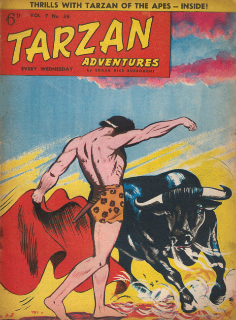 1957 <b><I>Tarzan Adventures</I></b> (<b>Vol. 7  No. 36</b>), ed. M.M.