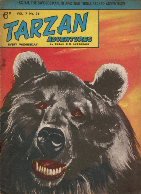 1957 <b><I>Tarzan Adventures</I></b> (<b>Vol. 7  No. 38</b>), ed. M.M.