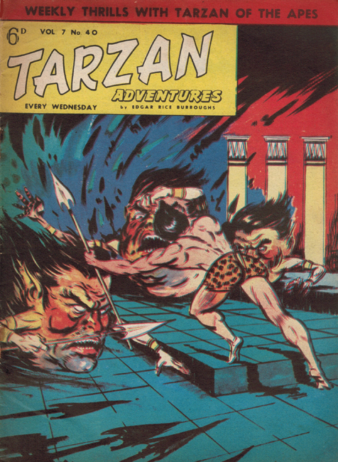 1958 <b><I>Tarzan Adventures</I></b> (<b>Vol. 7  No. 40</b>), ed. M.M.