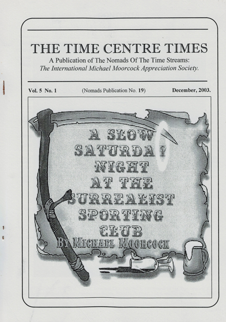 2003 <b><I>The Time Centre Times</I></b> (<b>Vol. 5  No. 1</b>)