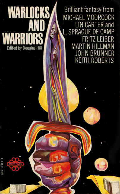 1971 <b><I>Warlocks And Warriors</I></b>, Mayflower p/b